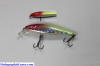 "NEW 4"" Silver - Chartreuse HD LifeLike Holographic Minnow Lure by HolographicTackle.com"