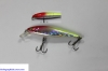 "NEW 3"" Silver - Chartreuse HD LifeLike Holographic Minnow Lure by HolographicTackle.com"